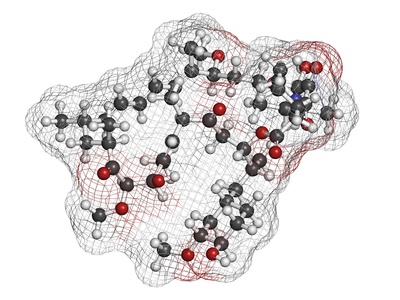 Rapamycin (sirolimus) immunosuppressive drug, chemical structure